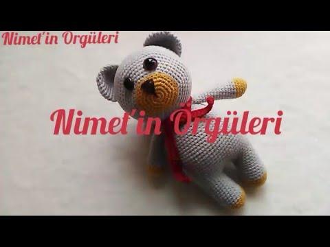 161# Amigurumi ayakkabılı ve atkılı ayıcık 2. Bölüm - YouTube   360x480