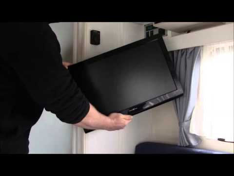 unicol wohnwagen tv mount youtube. Black Bedroom Furniture Sets. Home Design Ideas
