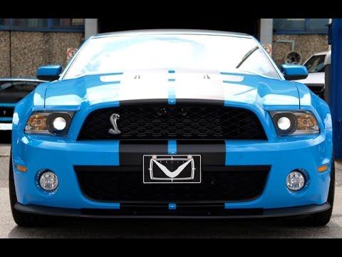 Shelby GT750 : Un Cobra sulla mascherina 750 CV sotto il cofano...