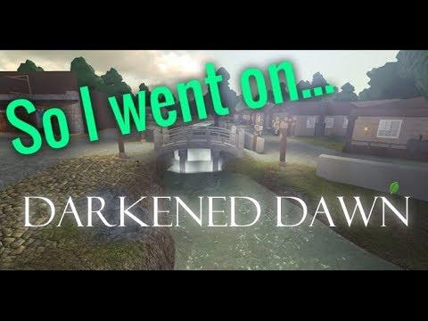 Roblox Darkened Dawn How To Morph Darkened Dawn In A Nutshell Youtube