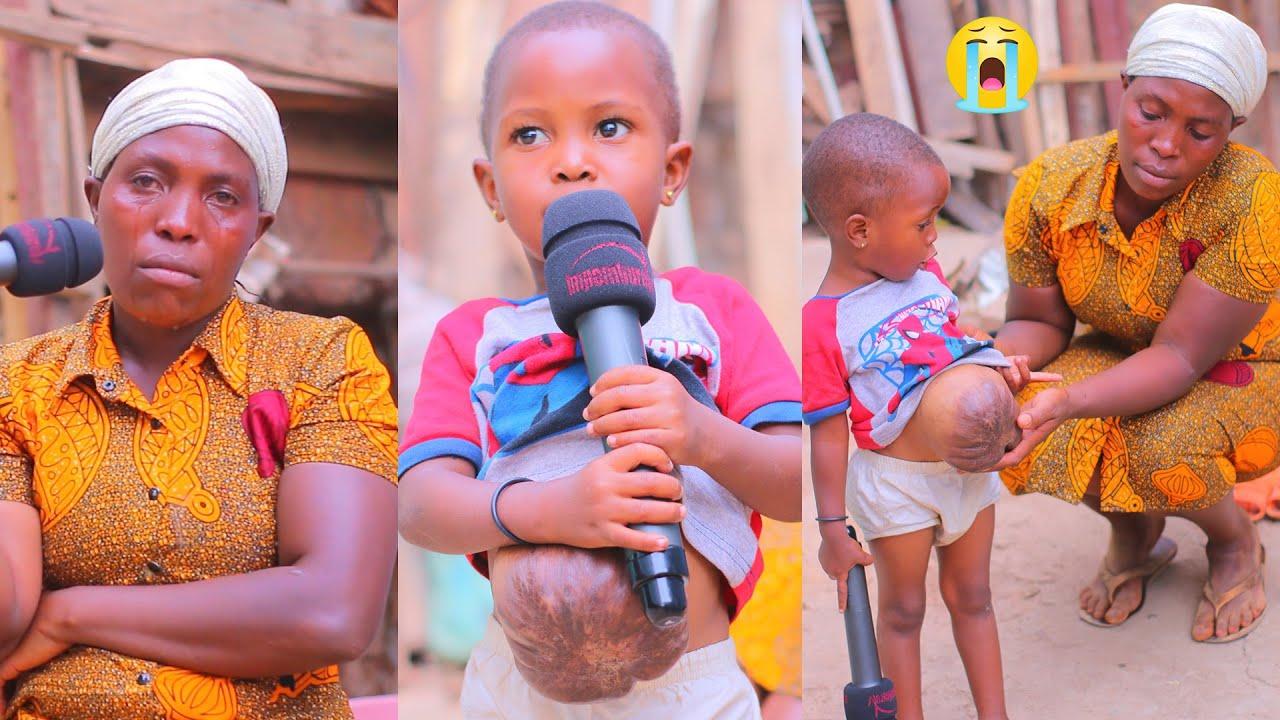 Download Inkuru ibabaje:Wamwana ufite imyaka2 bavugako atwite burya Yibera kumuhanda😭Se yamujugunye Akivuk😱