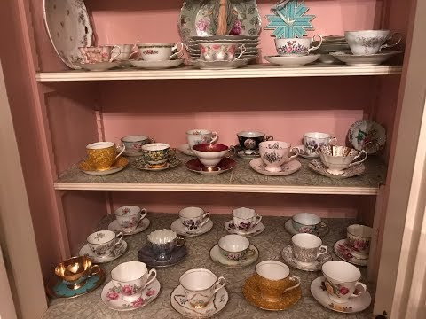 Vintage China Teacups And Saucers Collection