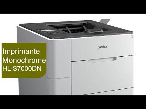 la hl s7000dn de brother l 39 imprimante jet d 39 encre monochrome la plus rapide du monde youtube. Black Bedroom Furniture Sets. Home Design Ideas