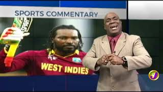 TVJ Sports Commentary: Chris Gayle - February 20 2019