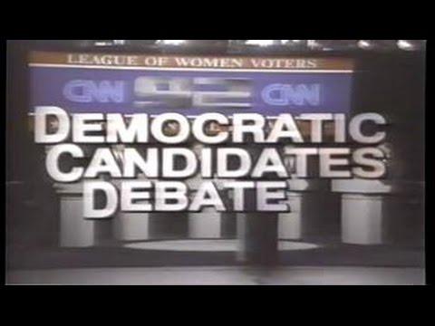 New Hampshire Democratic Party debate Feb 1992 part 1
