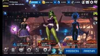 Marvel Future Fight- A-Force Assemble Team