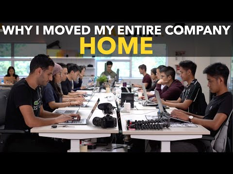Why I Moved My Entire Company Home