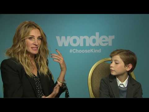 WONDER : Andrew Freund chats with Julia Roberts and Jacob Tremblay