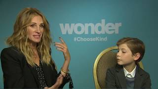 wonder interview andrew freund chats with julia roberts and jacob tremblay