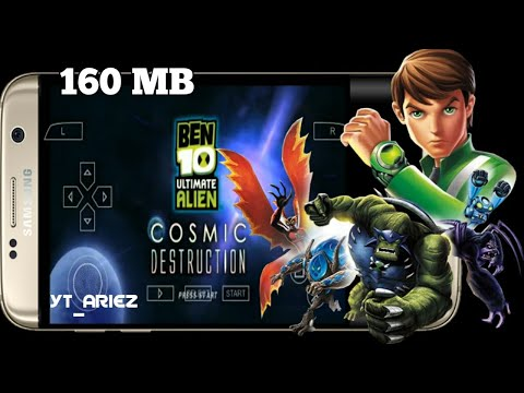 Download Game BEN 10 COSMIC DESTRUCTION PPSSPP Android
