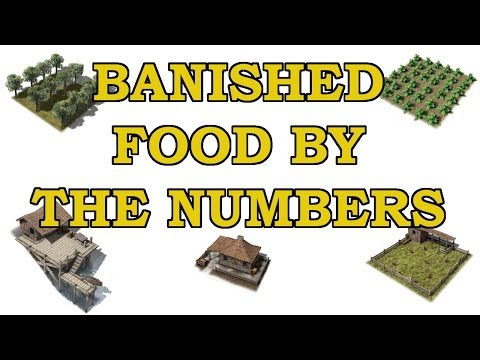Banished Tutorial - Food by the Numbers