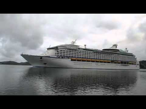 Biggest cruise ship to visit Port Chalmers