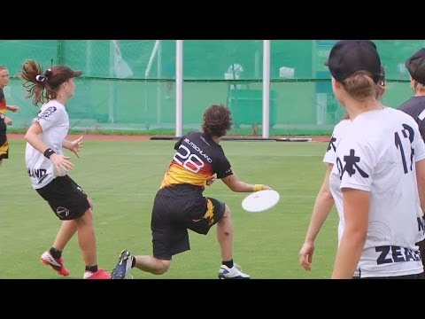 Germany vs New Zealand - 2012 World Ultimate Championships - Women's Pool Play