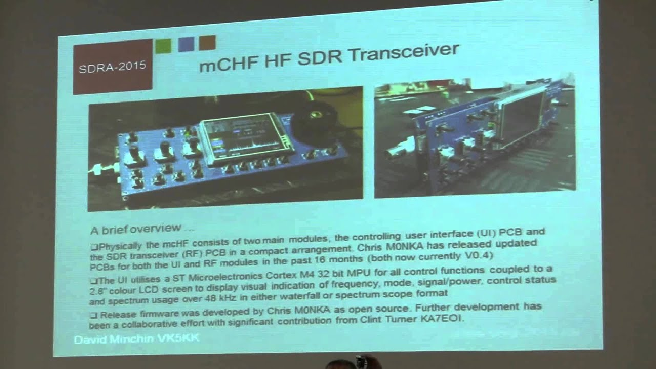 David Minchin, VK5KK: The mcHF SDR and SDR Microwave in Australia by  Software Defined Radio Academy