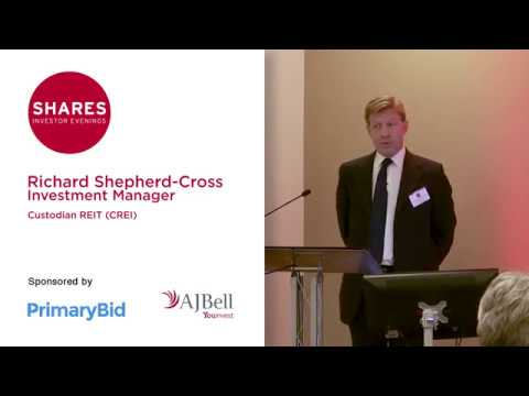 Richard Shepherd-Cross, Invesment Manager of Custodian REIT (CREI)