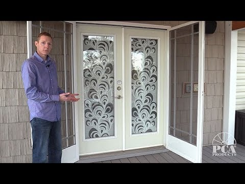 Pca S French Screen Door System Youtube