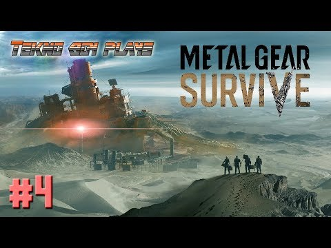 Into the Dust | Metal Gear Survive #4 | TeknoBoy Plays