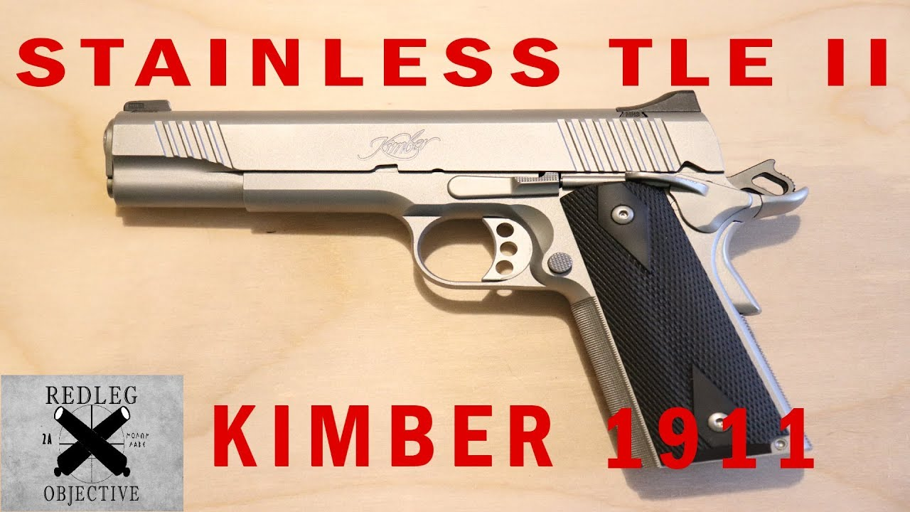 Kimber Stainless TLE II 1911 - Overview