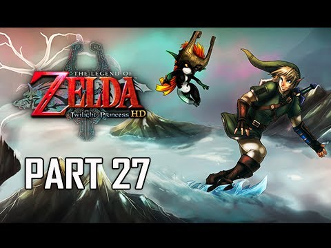 The Legend of Zelda Twilight Princess HD Walkthrough Part 27 - Snowpeak Ruins (Hero Mode)