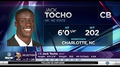 2017 NFL Draft Rd 7 Pk 245 | Minnesota Vikings Select CB Jack Tocho