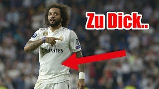 Zu DICK! Marcelo bei Real Madrid aussortiert..