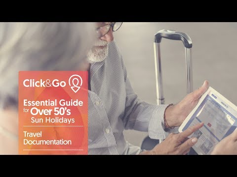 Over 50s Holidays – Travel Documentation