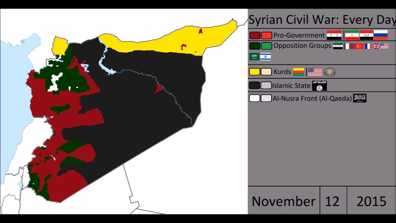 syrian civil war every day youtube