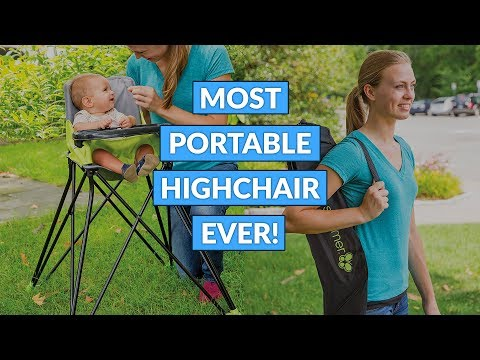 This Is The Most Portable Highchair Ever!