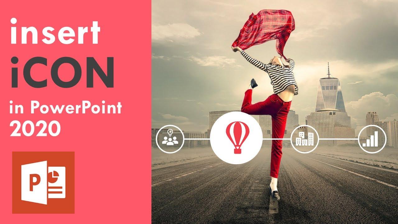 Hướng Dẫn Download và Chèn ICON trong PowerPoint   Office 365