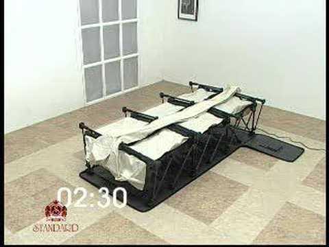the ez electric foldaway bed youtube. Black Bedroom Furniture Sets. Home Design Ideas
