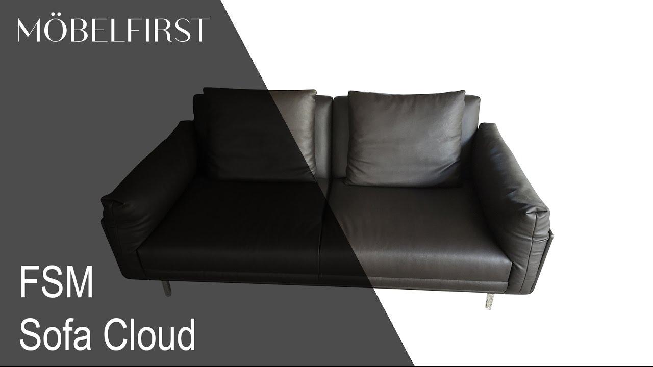 Designermobel Sofa Cloud Von Fsm Mobelfirst Prasentiert Youtube