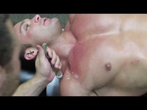 Bodybuilder Gets Graston