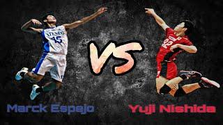 MARCK ESPEJO VS YUJI NISHIDA | Japan V League 2018