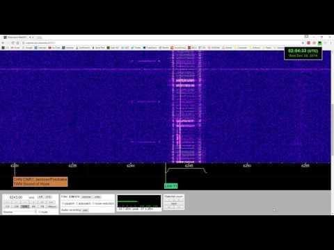 NATO / Military Tactical Data Link 11 signal at 6243 kHz