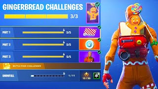 New CHRISTMAS REWARDS in Fortnite! (New Christmas Challenges)