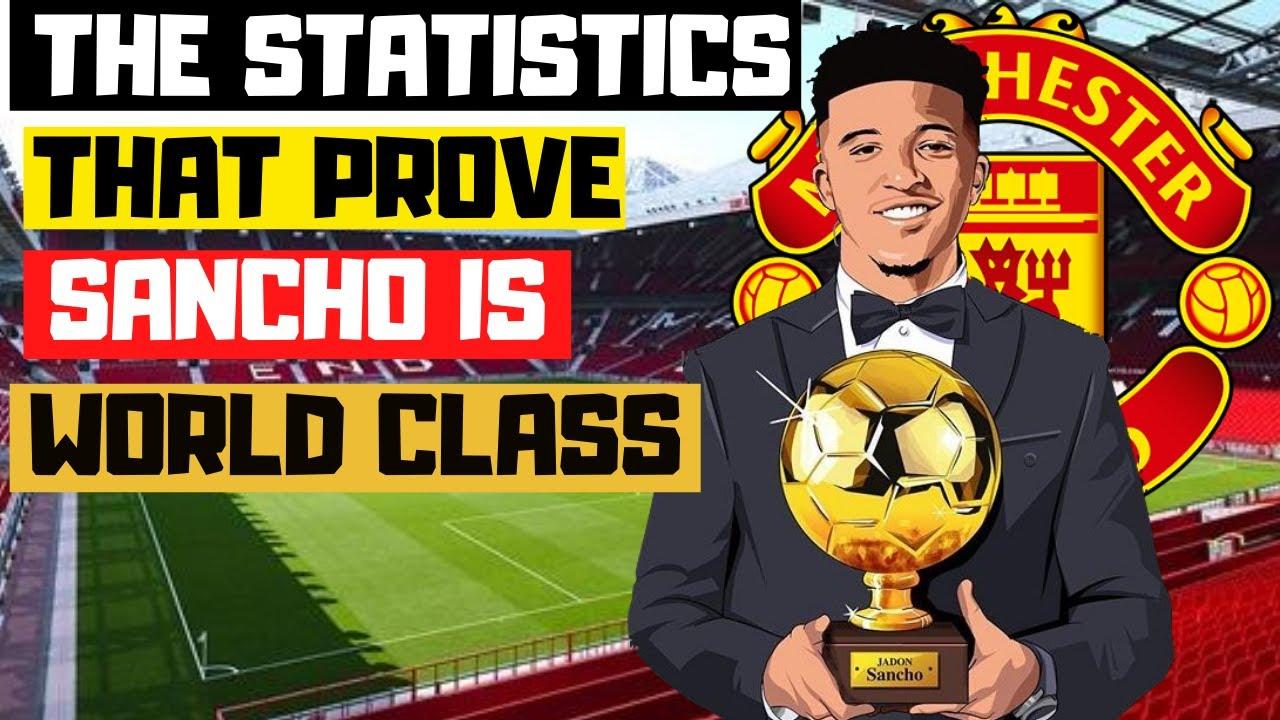 JADON SANCHO TO MAN UTD £110M | How Good is Sancho? Statistical + Tactical Analysis 2020