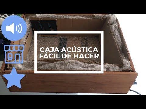 Cómo hacer una caja acústica casera para la central de la alarma de casa