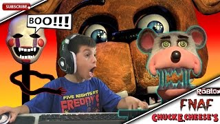 Five Nights At Freddy's At Chuck E Cheese Roblox Jeu Spooky Scary FNAF CEC