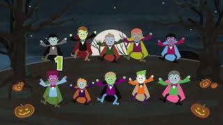 Halloween Funny ;happy Halloween Хэллоуинская Песня Для Детей - Хэллоуинские Существа -  Episode 58