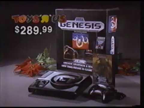 Toys R Us Sega Genesis Commercial