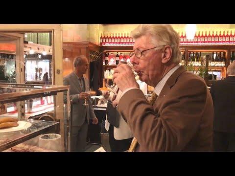 A Rum-Punch Doughnut Hole at Vienna's Black Camel