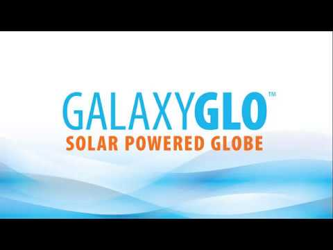 Game GalaxyGLO Solar Powered Globe