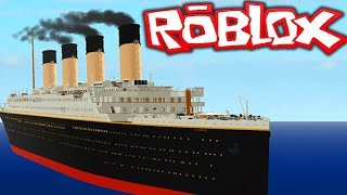 Roblox surviving the RMS titanic with my brother karl!!!