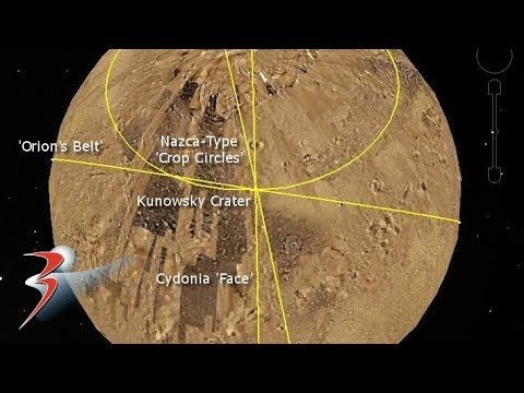 The Kunowsky Ley Lines of Mars Hypothesis