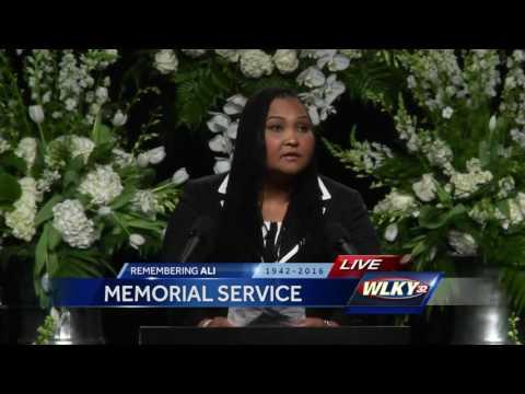Muhammad Ali memorial: Maryum Ali