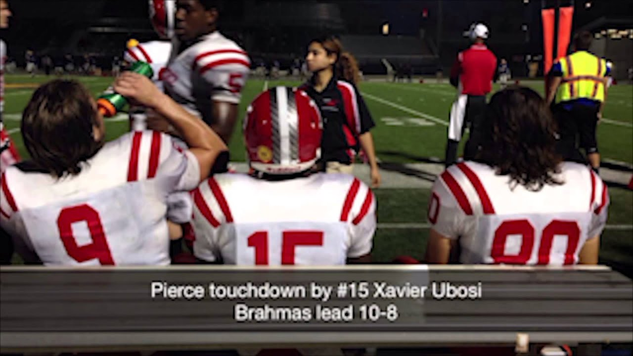 Snapchat: Pierce College Football vs. L.A. Southwest #1