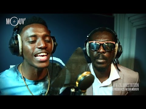 "ANTHONY B & ROMAIN VIRGO  : ""Medley / Real Rock Riddim""  (live @ Mouv' Studios)"