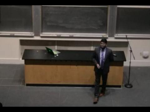 """Metallic Hydrogen"" Ranga Dias, Harvard University"