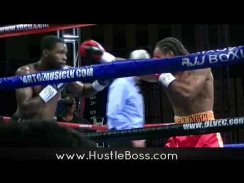 Jeremy Nichols Vs. Marquis Hawthorne Fight Highlights - 'J Flash' Moves To 7-0