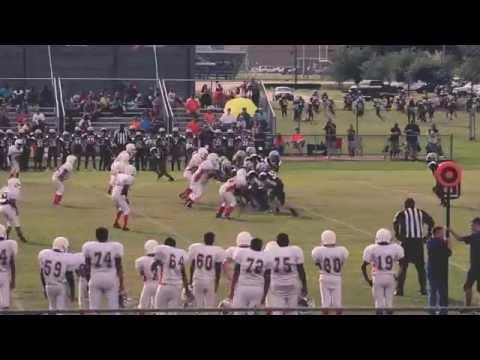 """La Porte vs Pearland Roughnecks 7th grade """"A"""" team"""